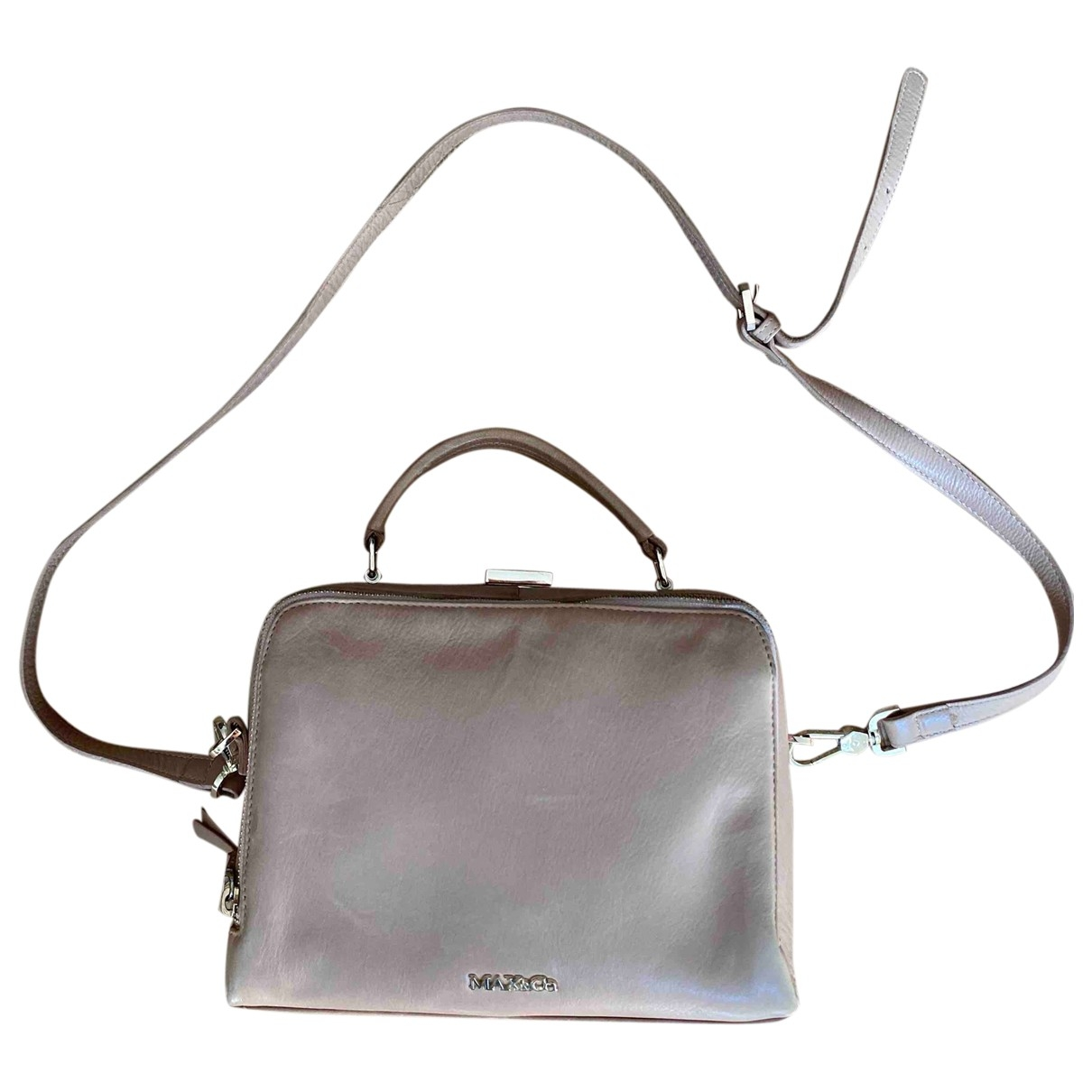 Max & Co \N Beige Leather handbag for Women \N