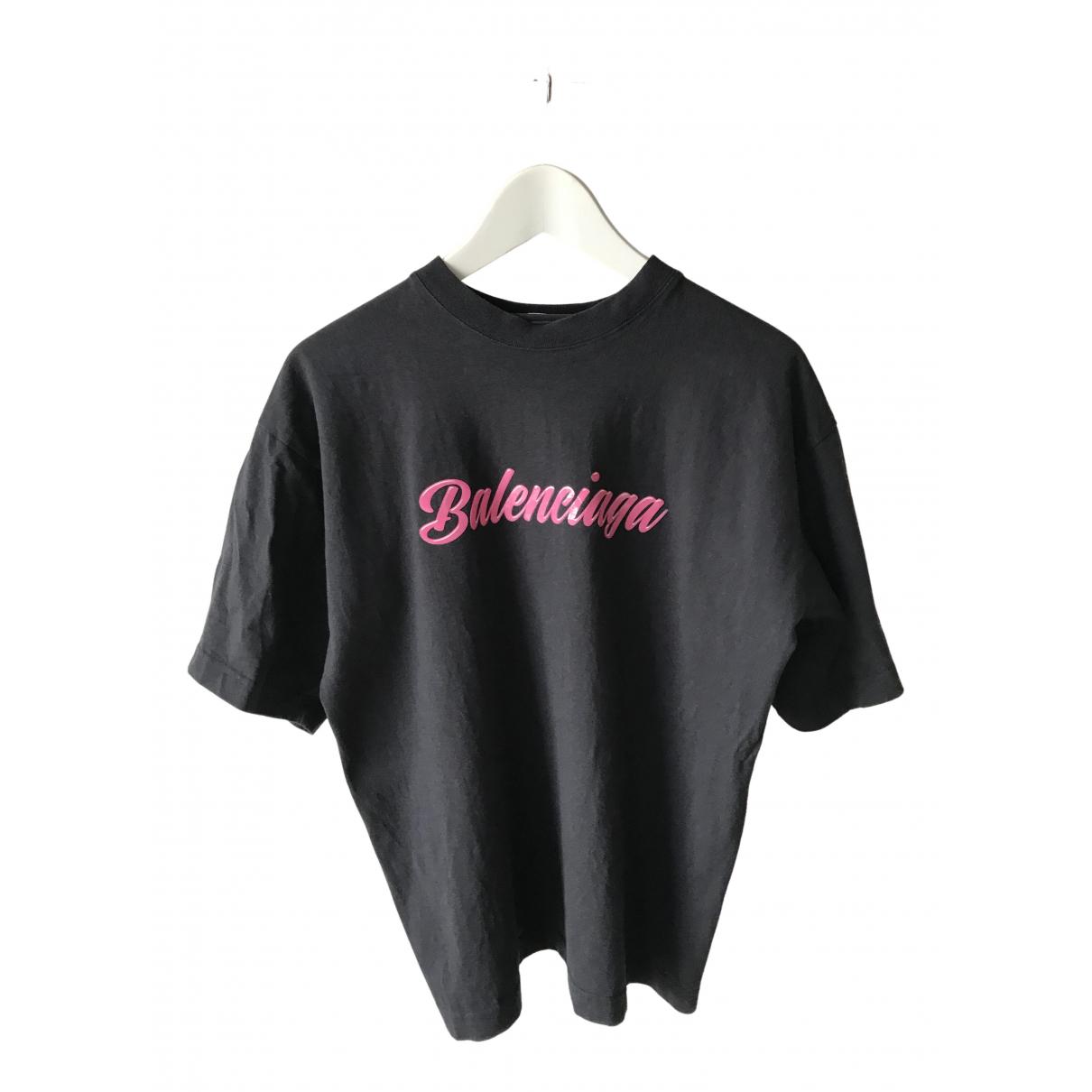 Balenciaga \N Grey Cotton  top for Women 36 FR