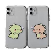 2 Stuecke iPhone Schutzhuelle mit Dinosaurier Muster