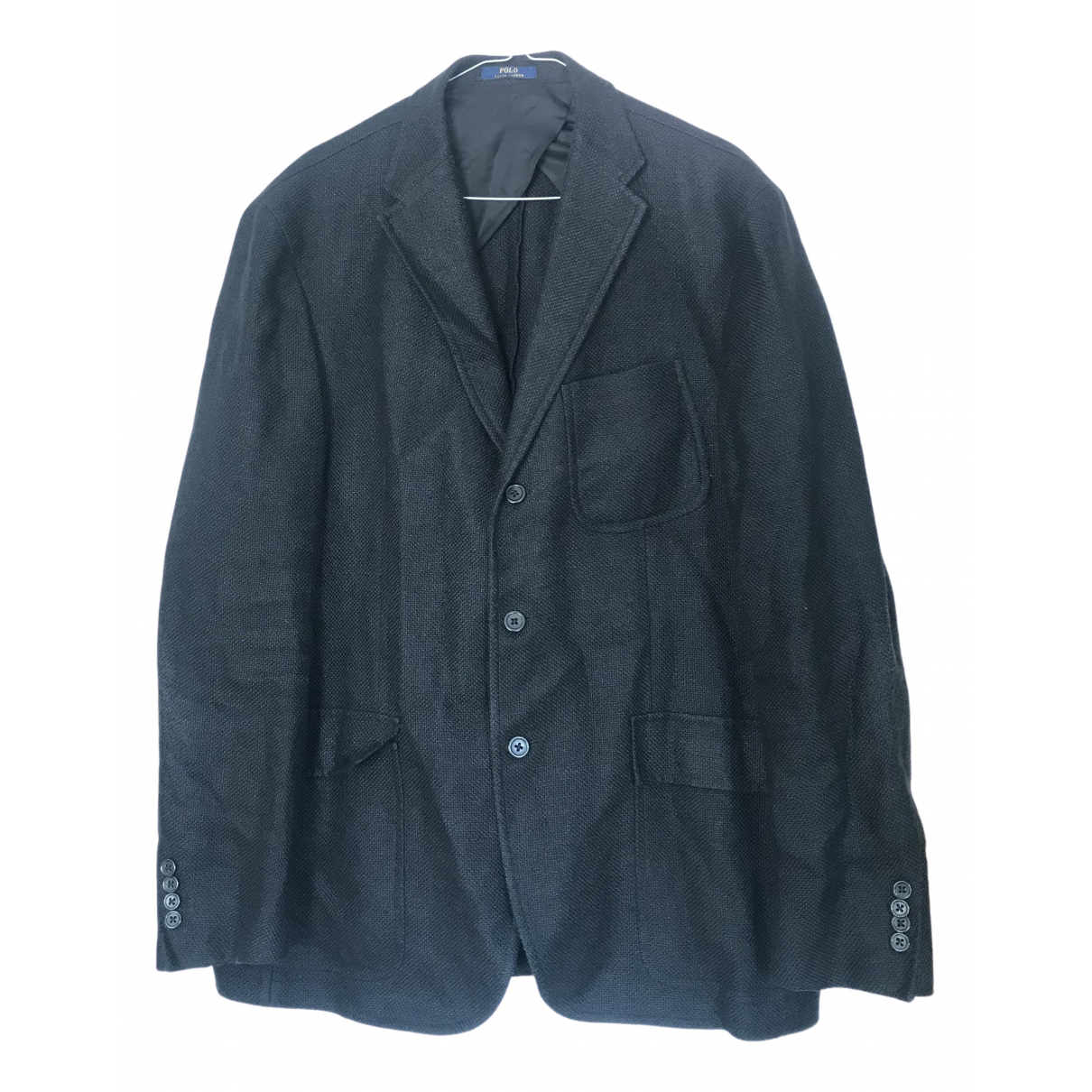 Polo Ralph Lauren \N Black Linen jacket  for Men 44 UK - US