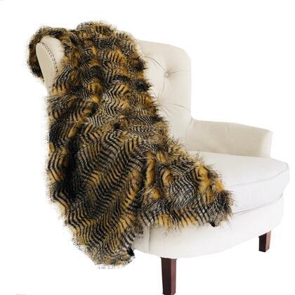 Porcupine Collection PBEZ1779-4860-TC 48W x 60L Mocha Faux Fur Luxury