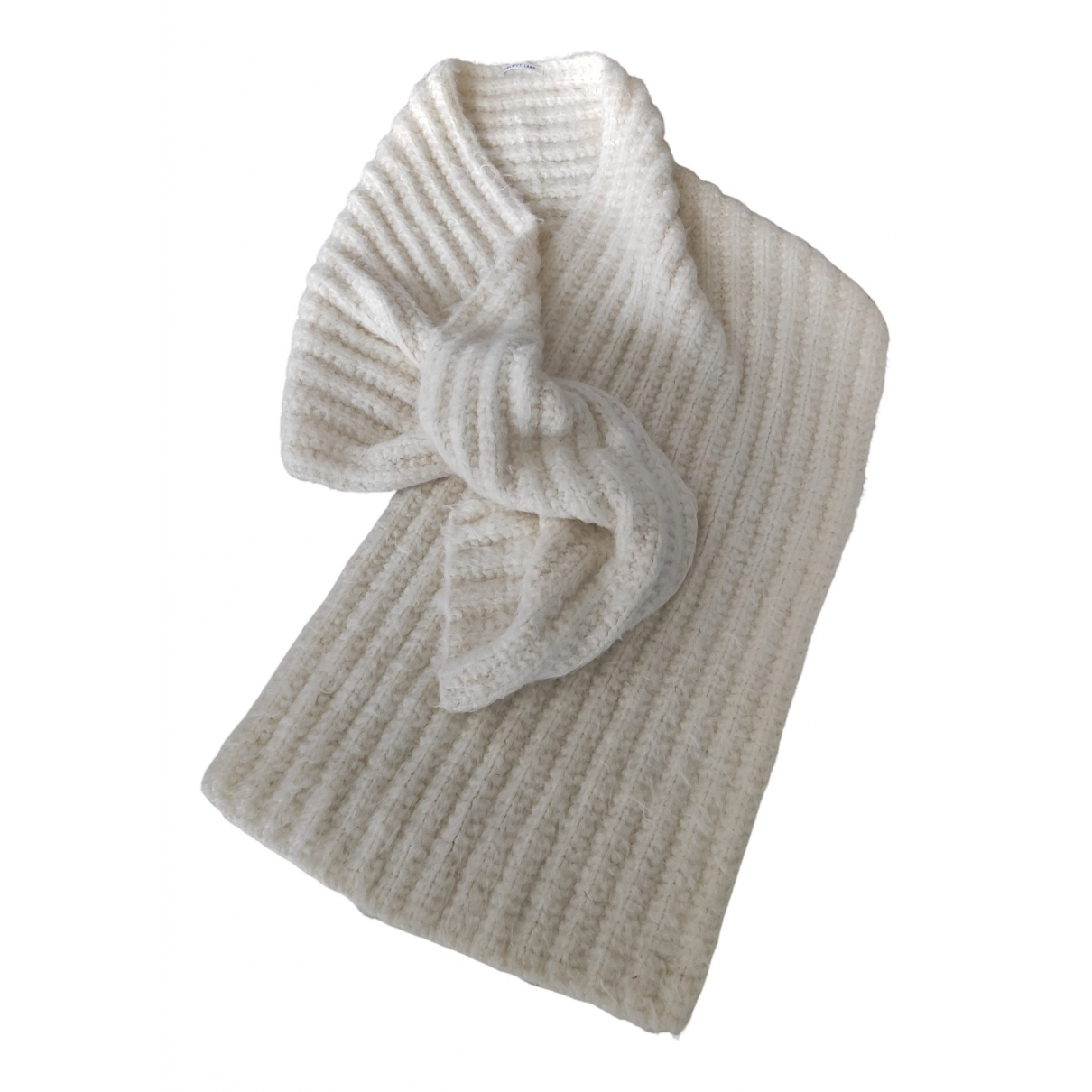 Helmut Lang - Foulard   pour femme en laine - blanc
