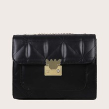 Girls Stitch Detail Chain Bag