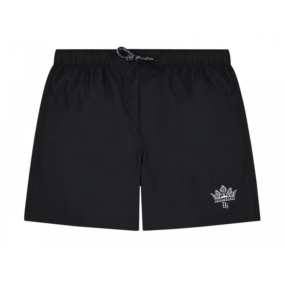 Dolce & Gabbana Swim Shorts Colour: BLACK, Size: 10 YEARS