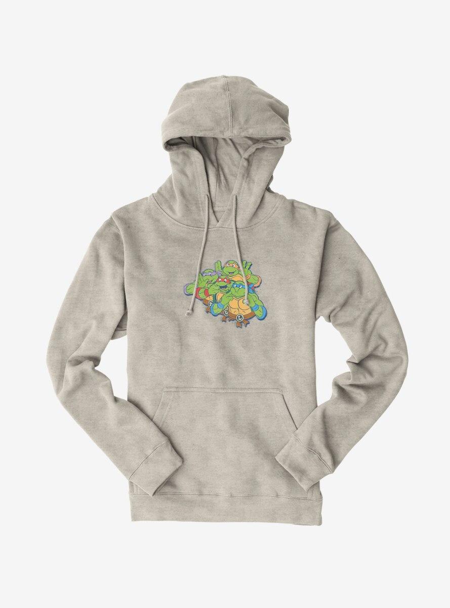 Teenage Mutant Ninja Turtles Group Goofing Around Hoodie