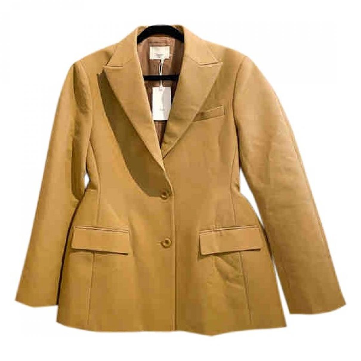 The Frankie Shop - Veste   pour femme en coton - beige