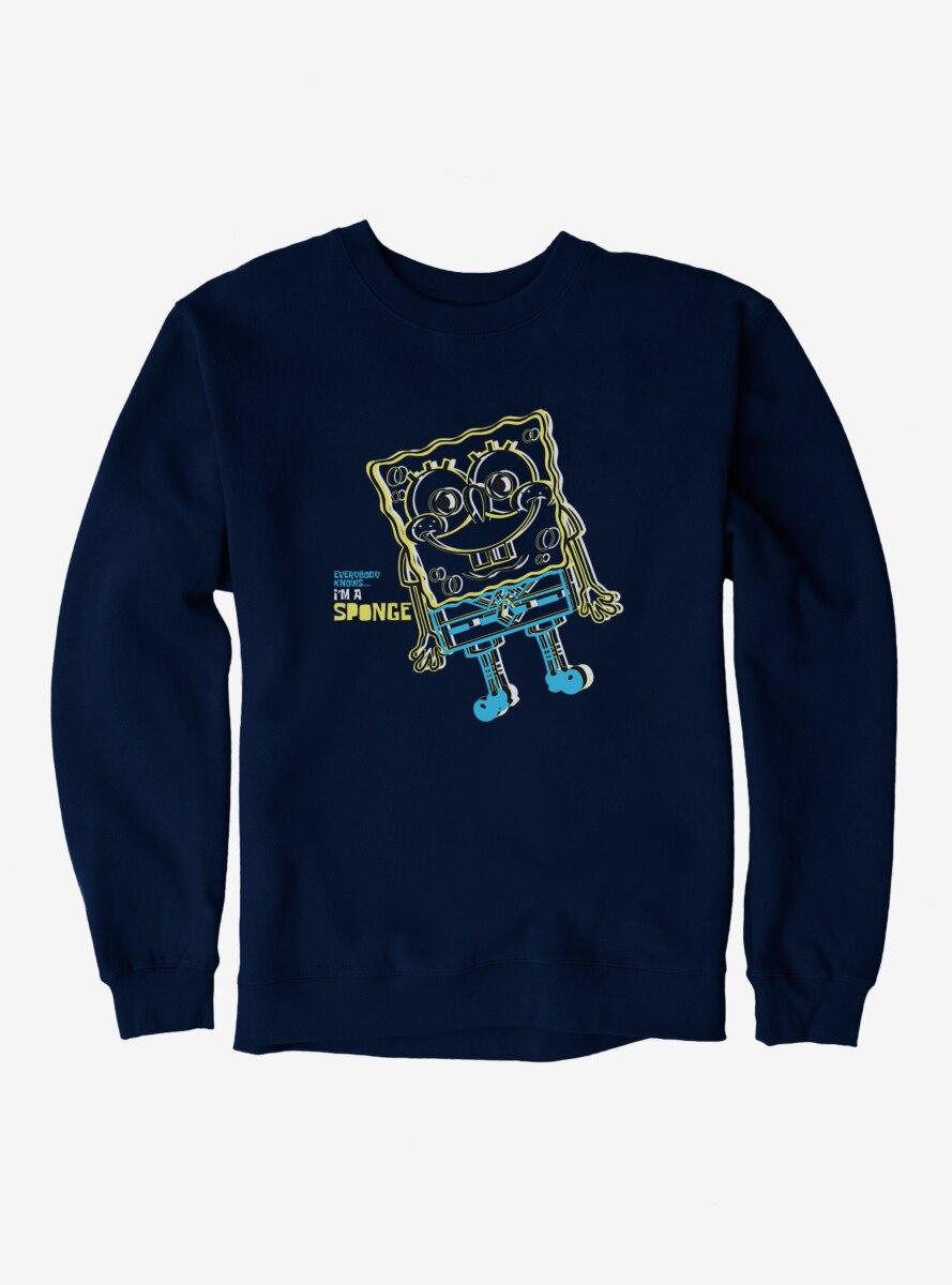 SpongeBob SquarePants I'm A Sponge Sketch Sweatshirt