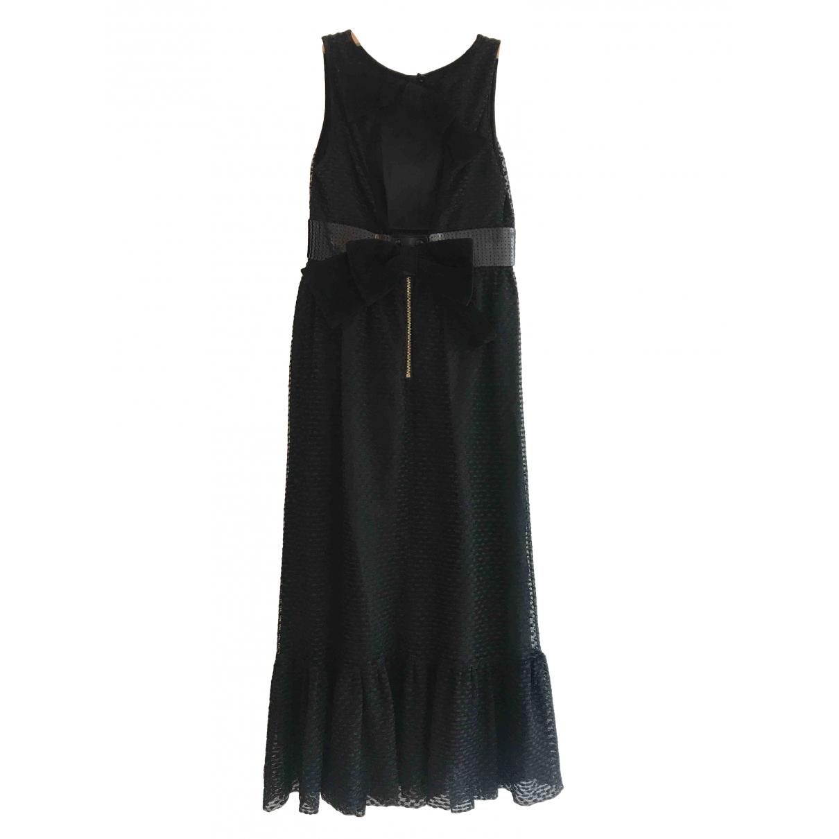 Manoush - Robe   pour femme en coton - noir