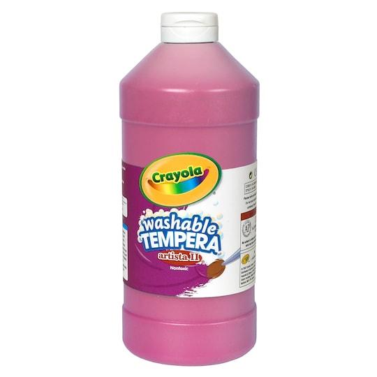 Crayola® Artista Ii® Washable Tempera Paint, 32 oz in Magenta | Michaels®