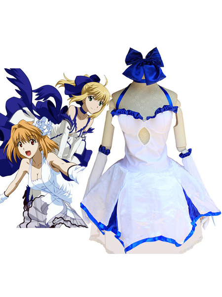 Milanoo Fate Grand Order Saber Lily Cosplay Costume Halloween