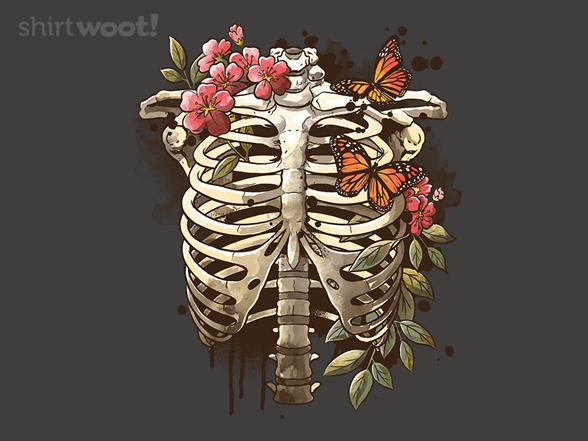 Spring Skeleton T Shirt