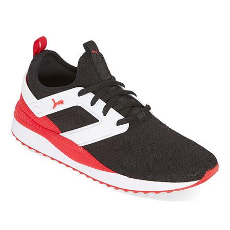 Puma Pacer Mens Running Shoes, 10 1/2 Medium, Black