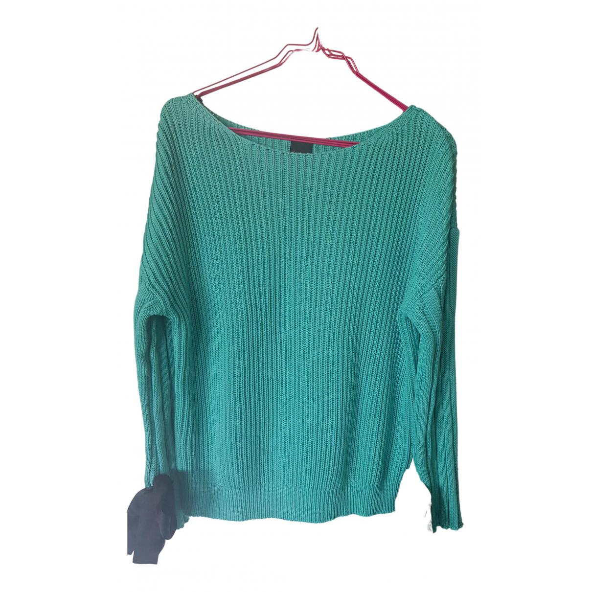 Pinko \N Pullover in  Blau Baumwolle