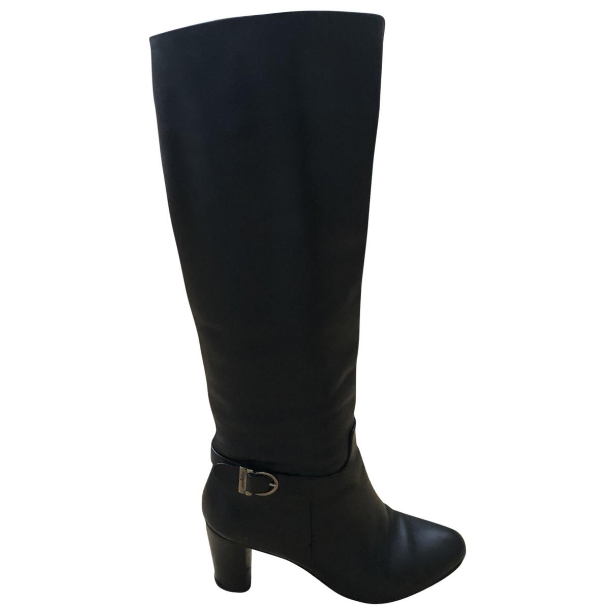 Fratelli Rossetti - Bottes   pour femme en cuir - noir