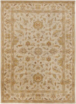 Crowne CRN-6011 12' x 15' Rectangle Traditional Rugs in Beige  Camel  Wheat  Dark Red  Dark Brown  Olive  Taupe  Charcoal  Light