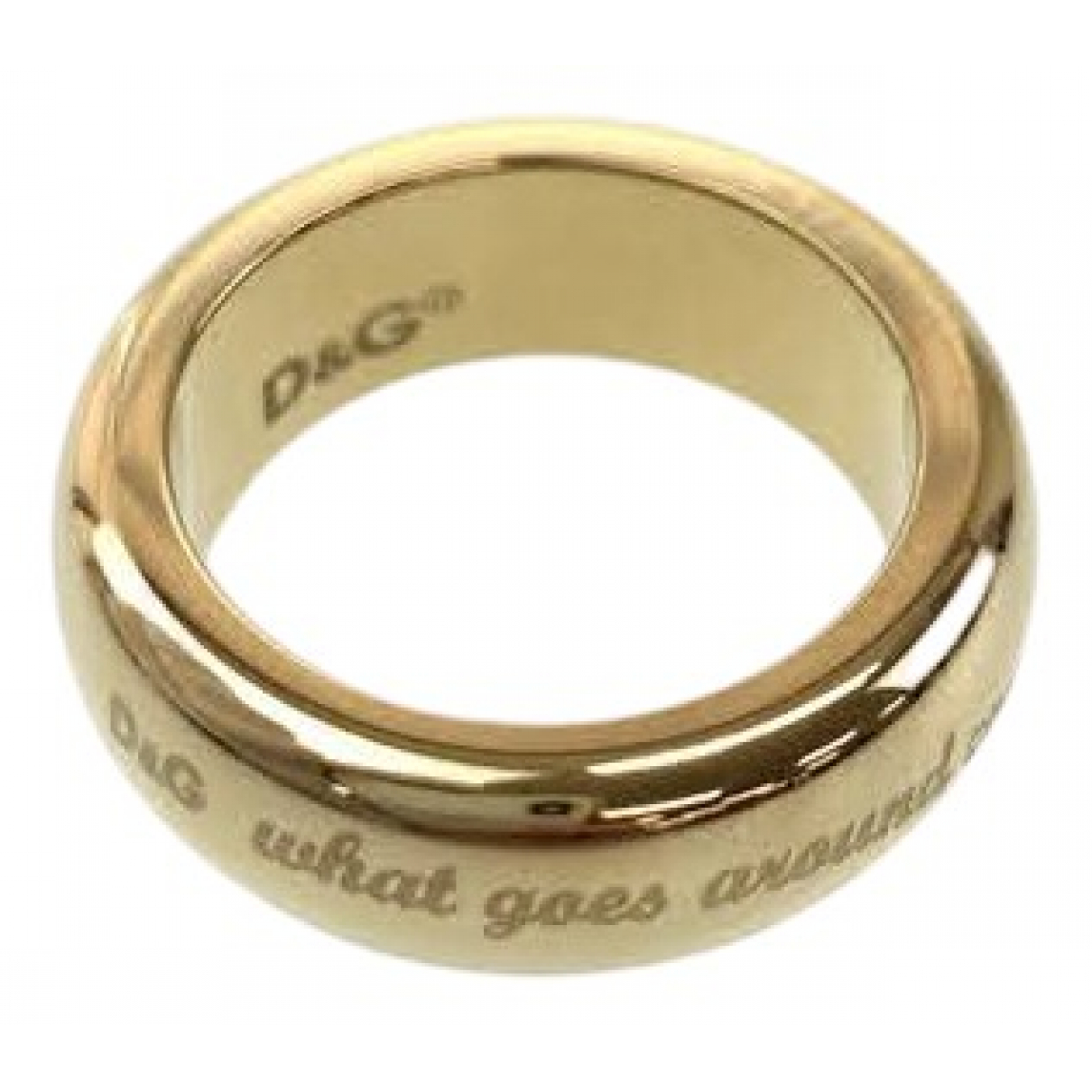 D&g \N Ring in  Gold Metall