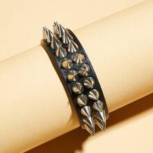 Guys Studded Decor Bracelet