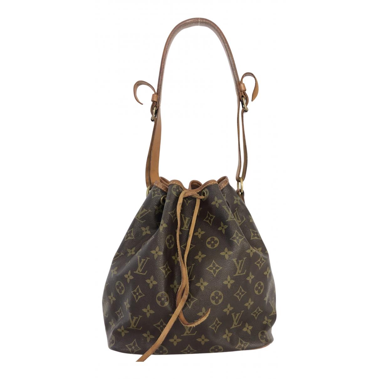 Louis Vuitton Noé Brown Cloth handbag for Women N