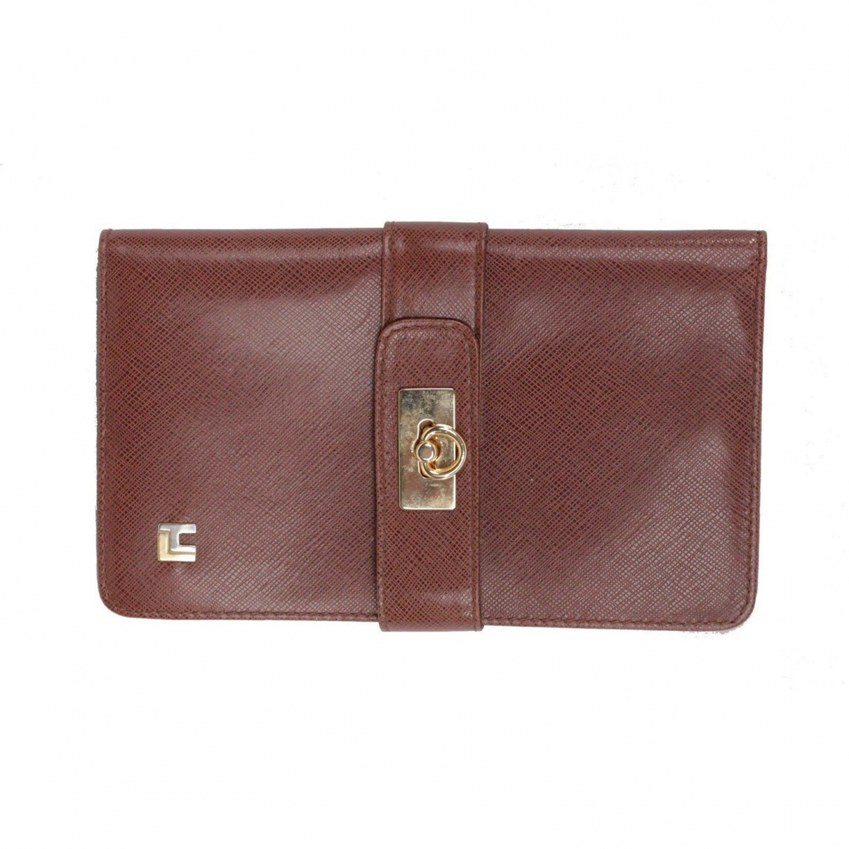 Non Signé / Unsigned \N Brown Leather wallet for Women \N