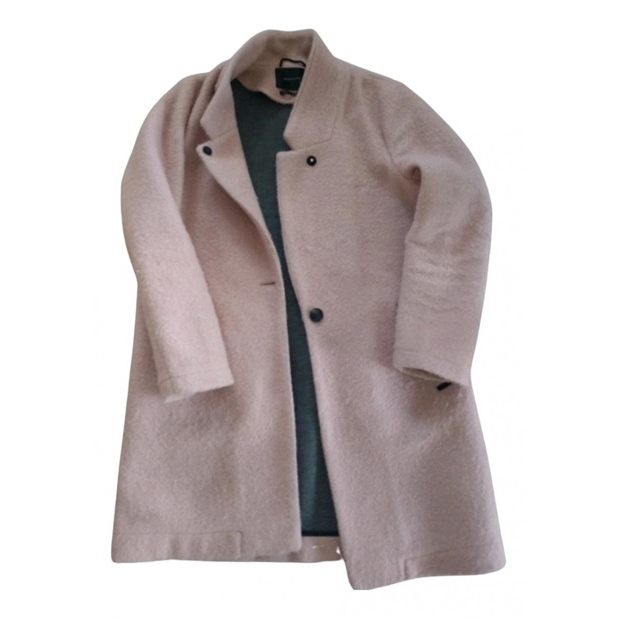 Scotch & Soda \N Pink Wool coat for Women 42 FR