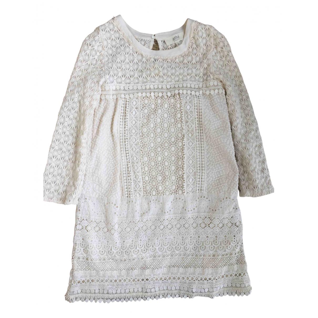Vanessa Bruno Athe N Beige Cotton dress for Women 38 FR