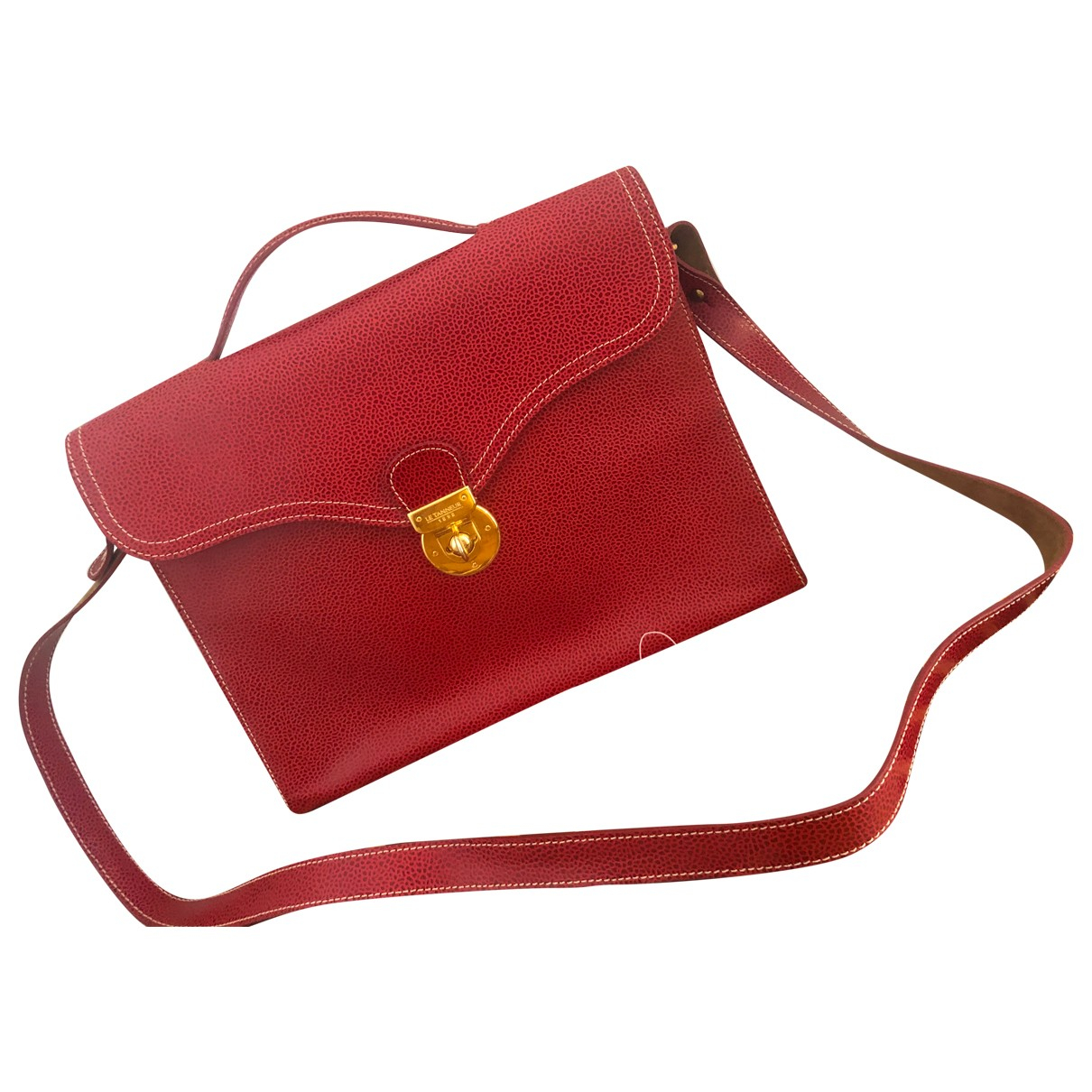 Le Tanneur \N Red Leather handbag for Women \N