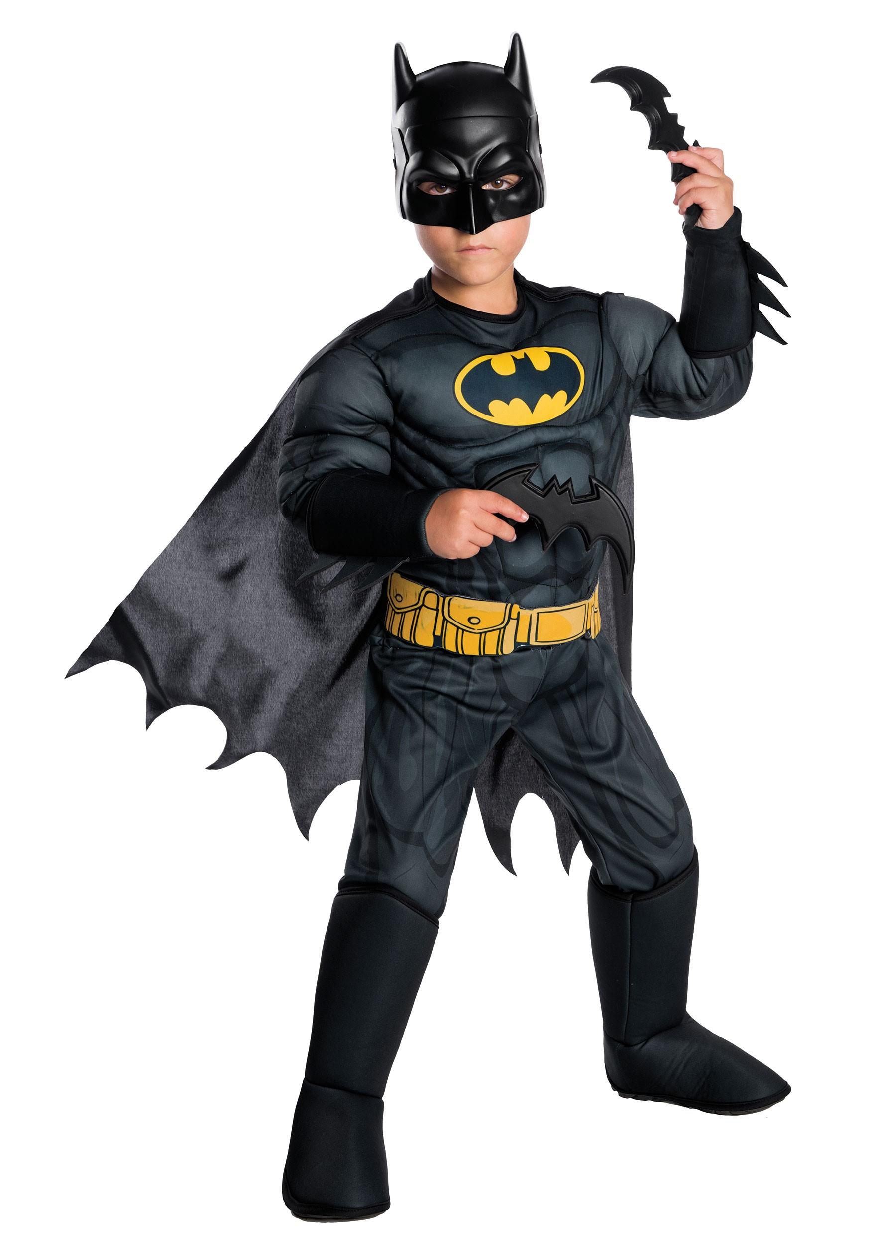 DC Comics Deluxe Kids Batman Costume