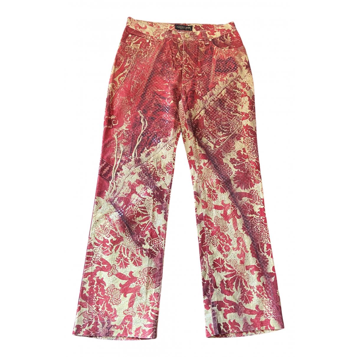 Pantalon recto Roberto Cavalli