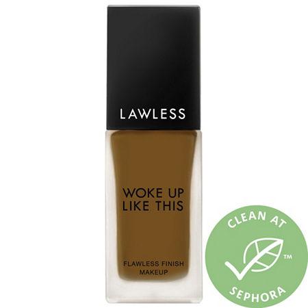 LAWLESS Woke Up Like This Flawless Finish Foundation, One Size , Beige
