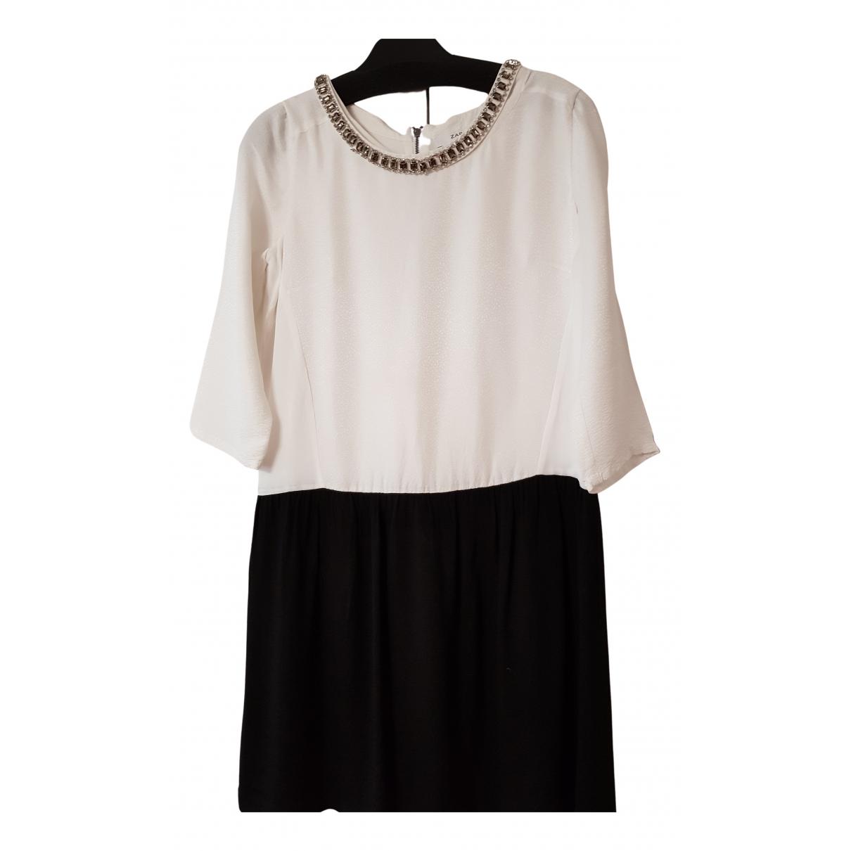 Zapa - Robe   pour femme - ecru