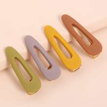 4pcs Colorful Hair Clip