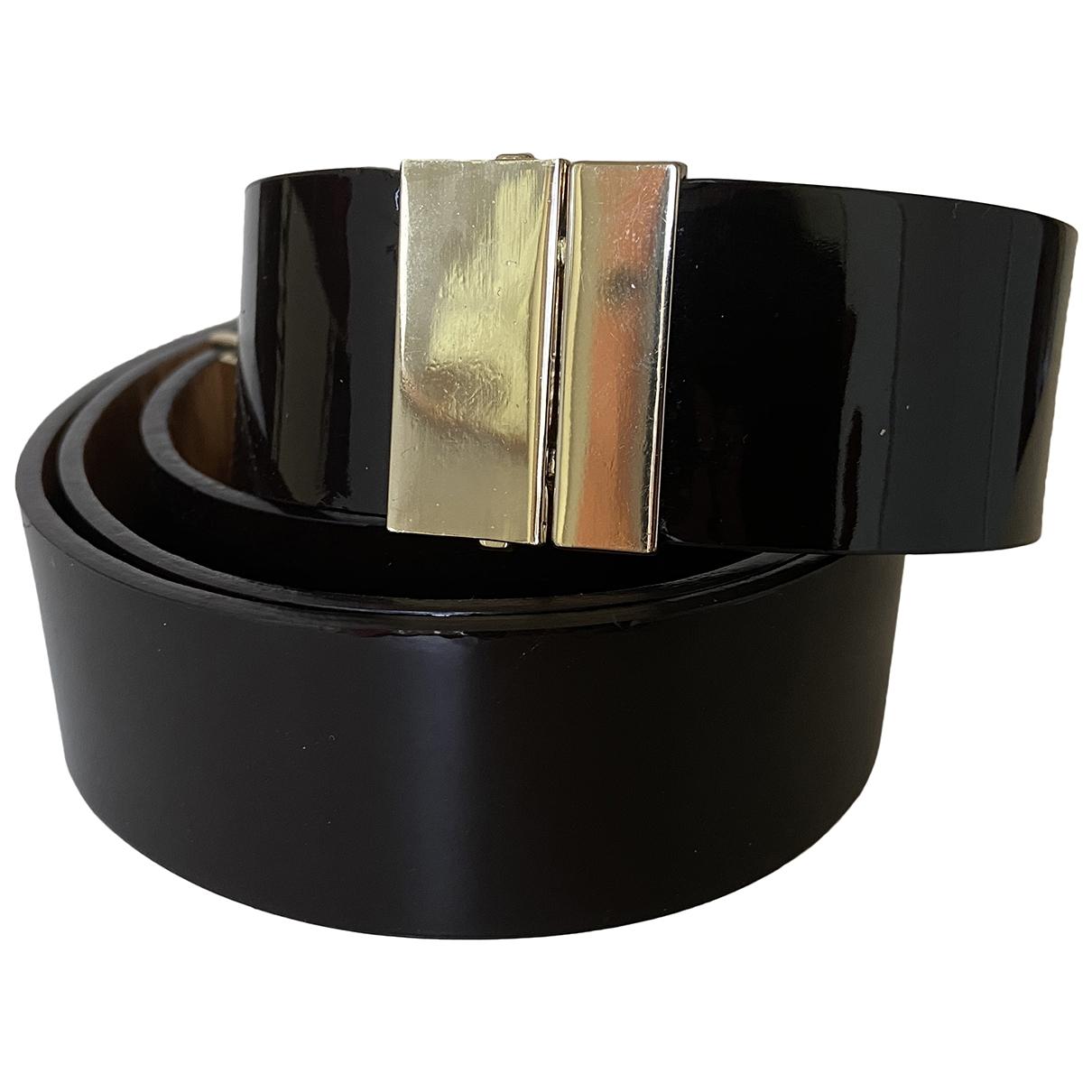 Hoss Intropia \N Brown Patent leather belt for Women M International