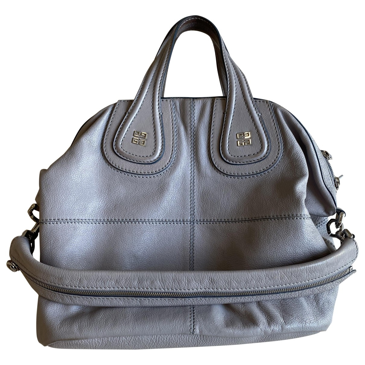 Givenchy Nightingale Handtasche in  Grau Leder
