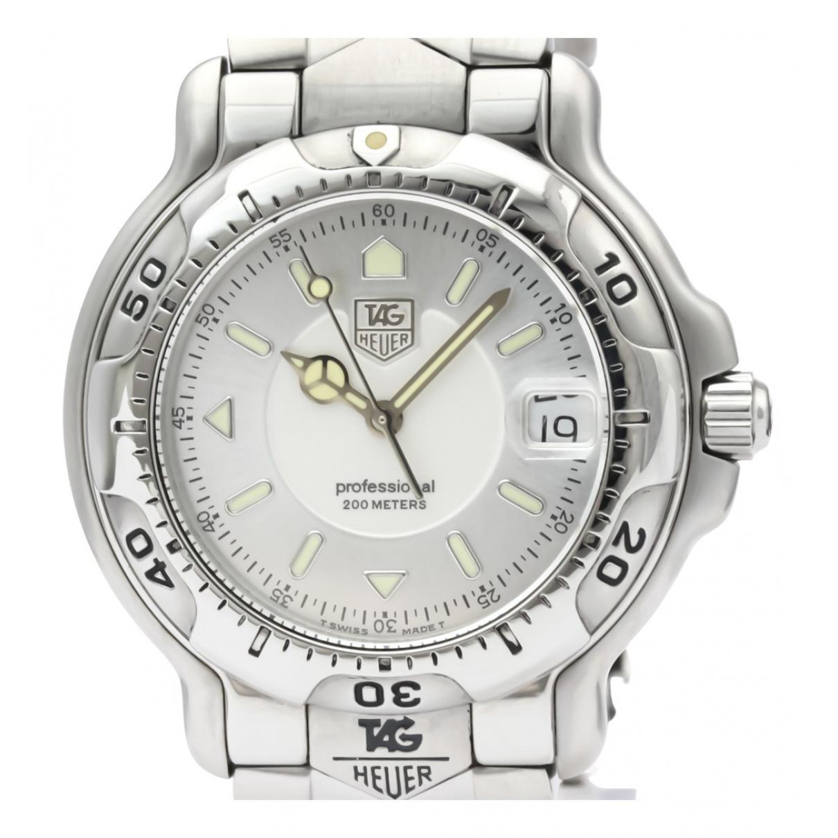 Tag Heuer \N Uhr in  Silber Stahl