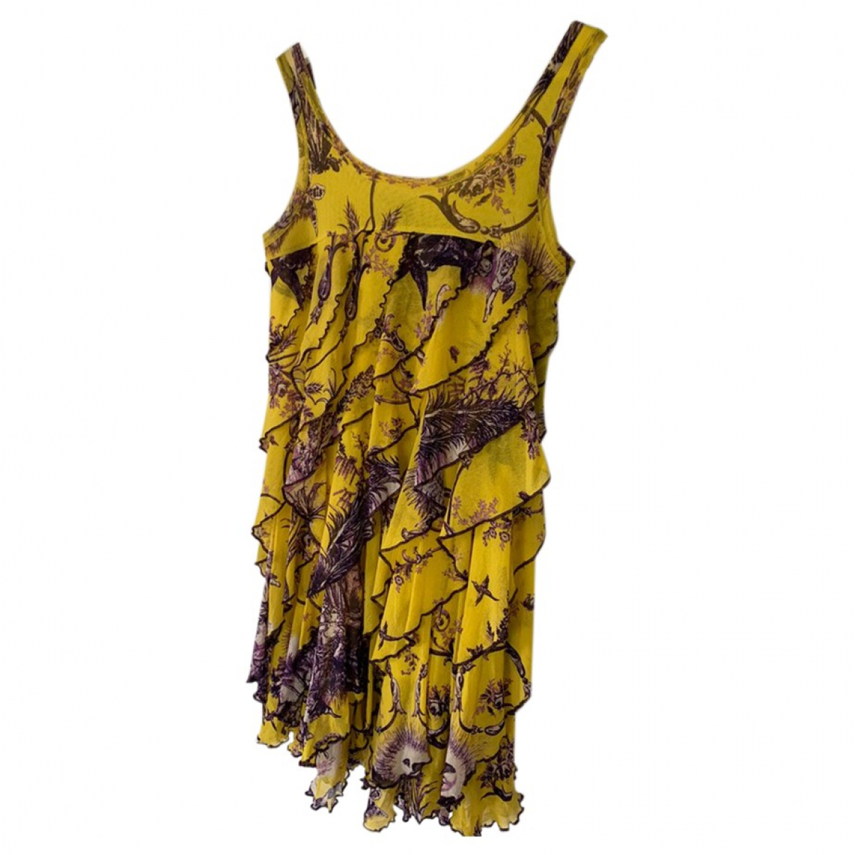 Jean Paul Gaultier \N Kleid in  Gelb Synthetik