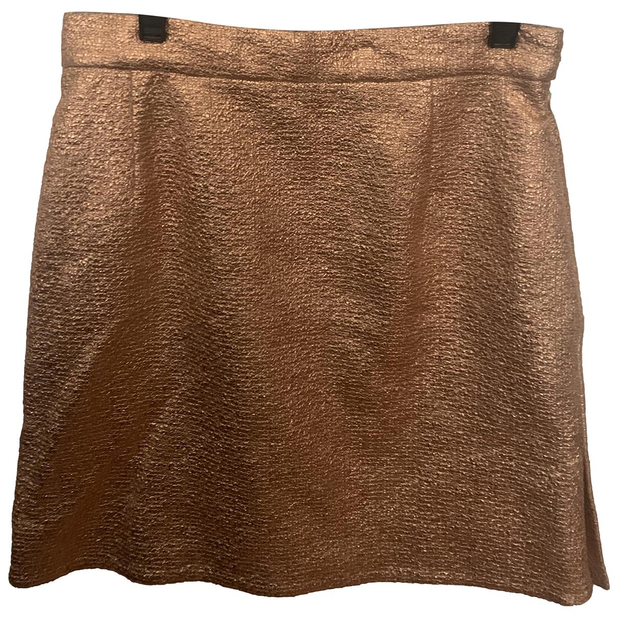 Carven \N Rocke in  Metallic Baumwolle