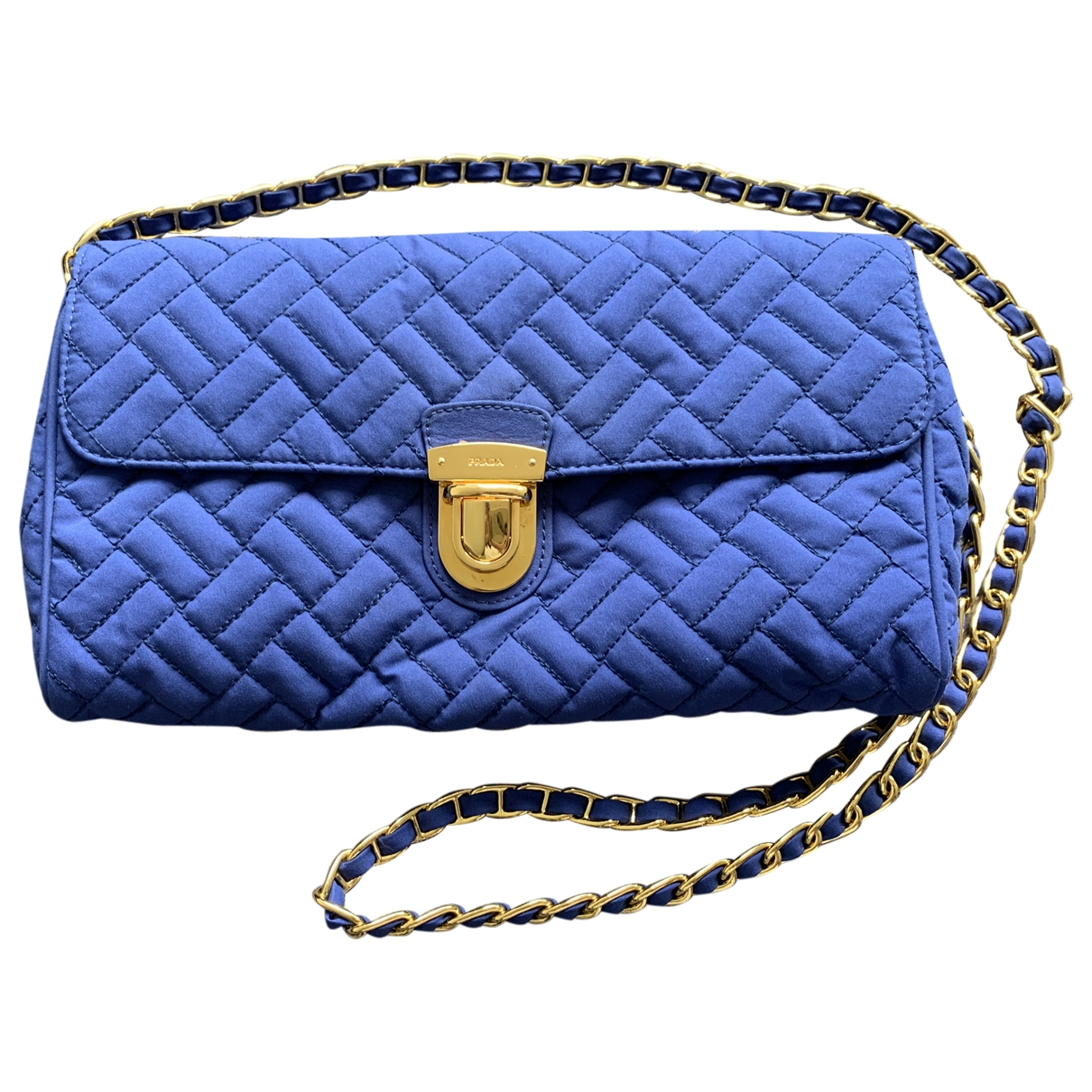 Prada \N Blue Cloth handbag for Women \N
