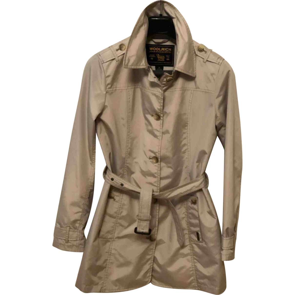 Woolrich \N Beige coat for Women M