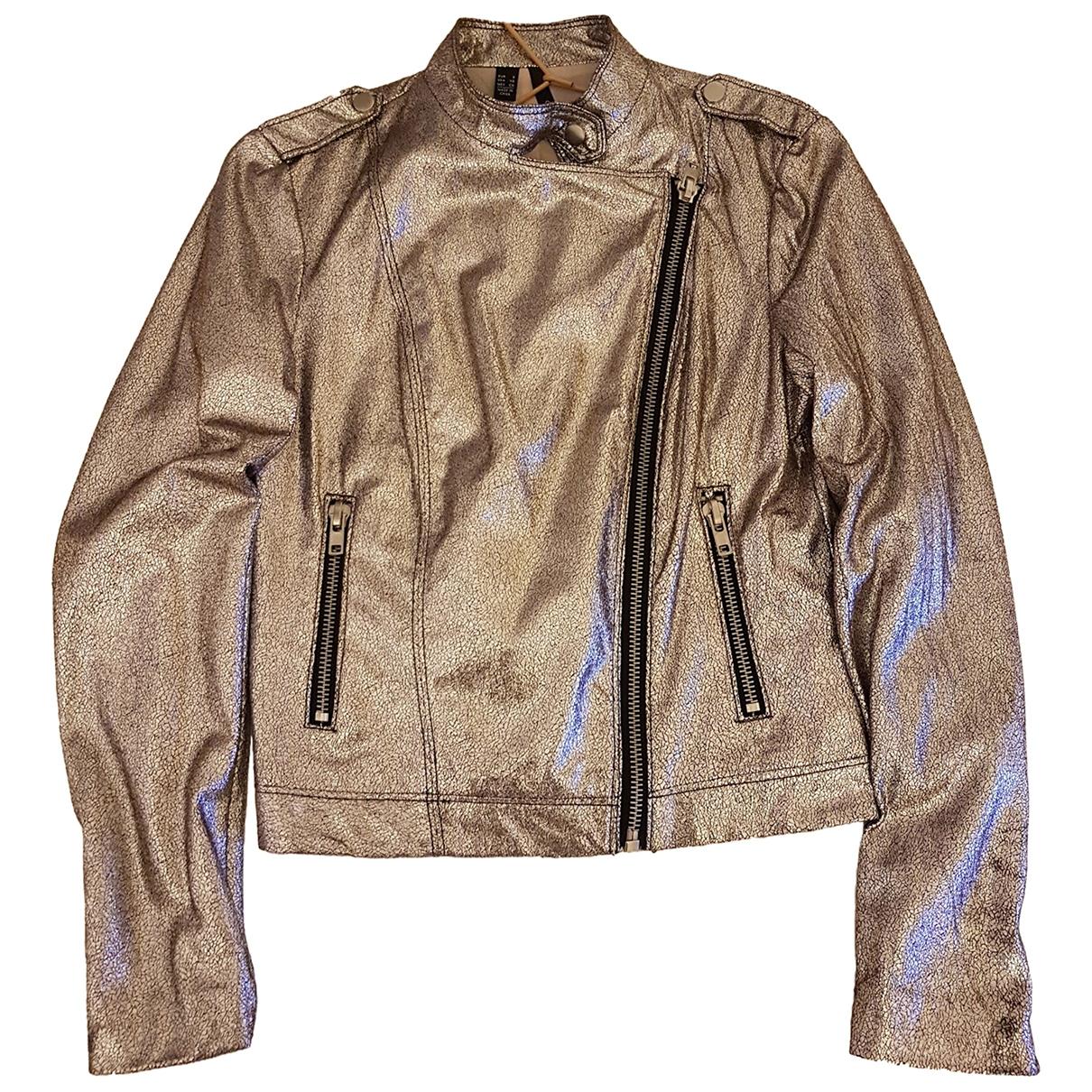Mango \N Silver Glitter jacket for Women 38 FR