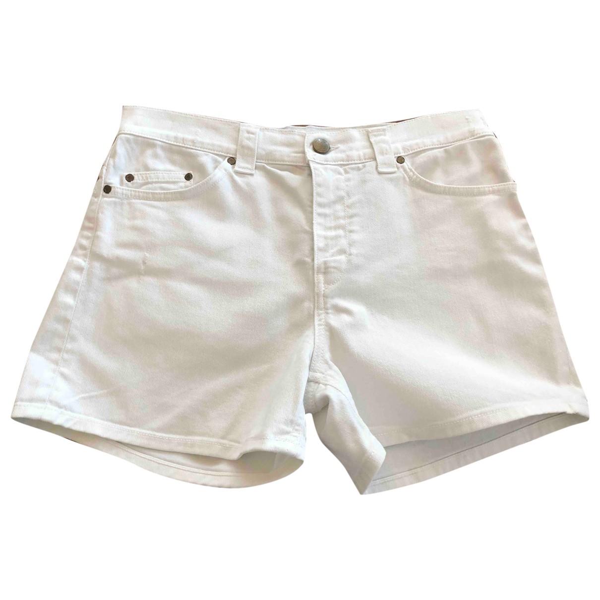 Dondup \N Shorts in  Weiss Baumwolle