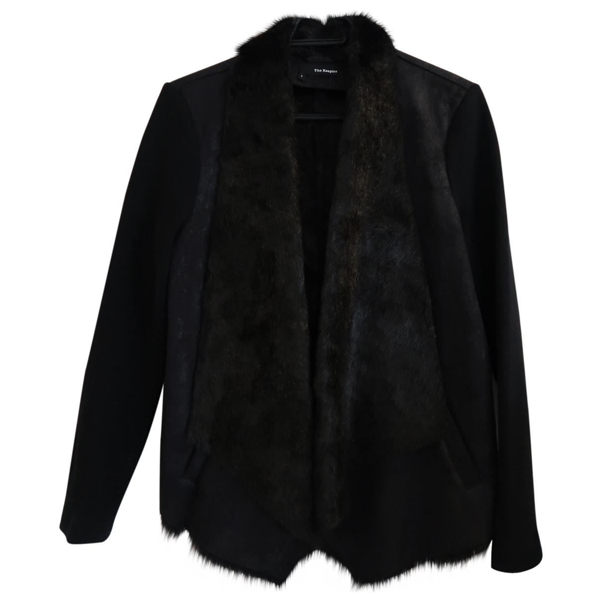 The Kooples \N Black Leather jacket for Women 2 0-5