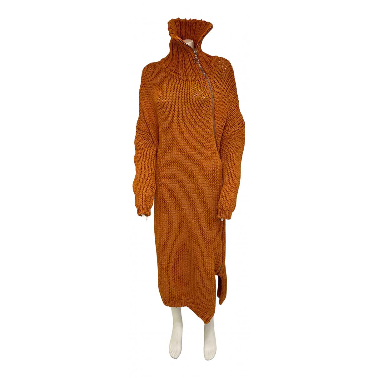 Marques Almeida - Pull   pour femme en coton - orange