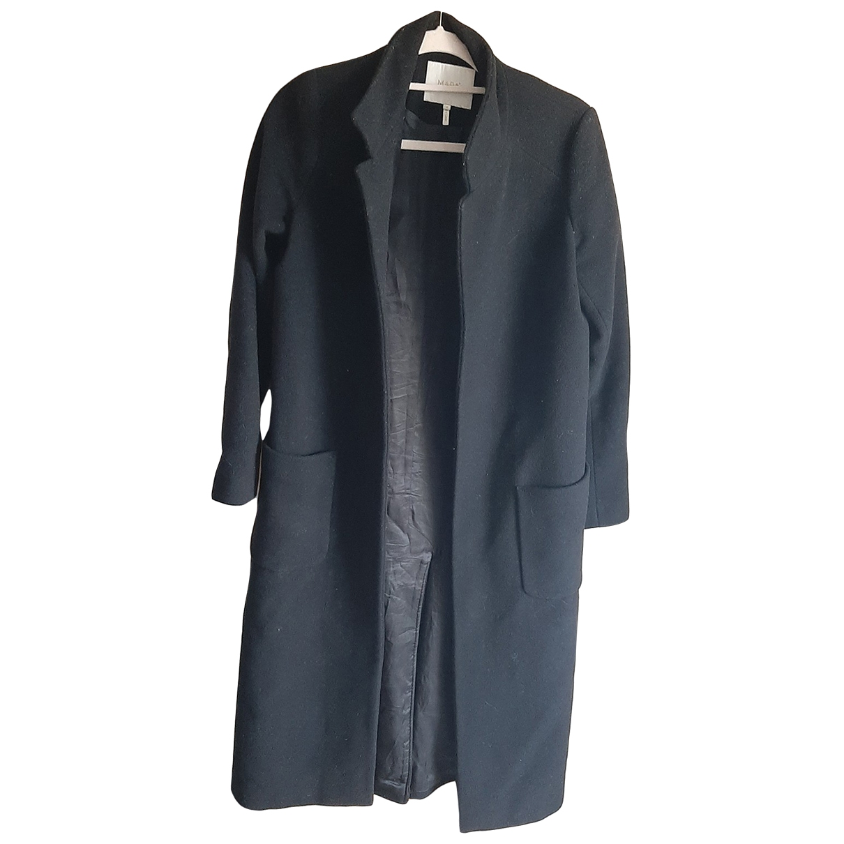 Non Signé / Unsigned \N Black Wool coat for Women 2 0-5