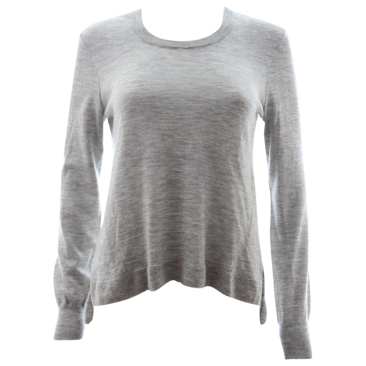 J Brand \N Pullover in  Grau Kaschmir