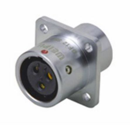 RS PRO Connector, 5 contacts Panel Mount Miniature Socket, Solder IP67