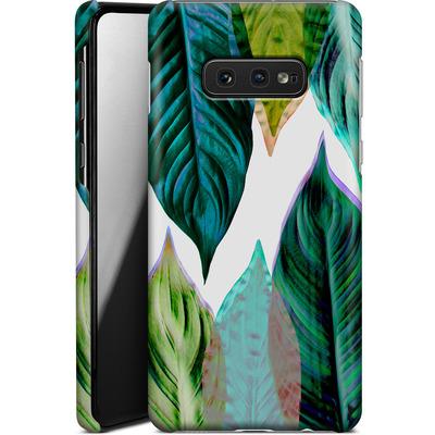Samsung Galaxy S10e Smartphone Huelle - Green Leaves von Mareike Bohmer