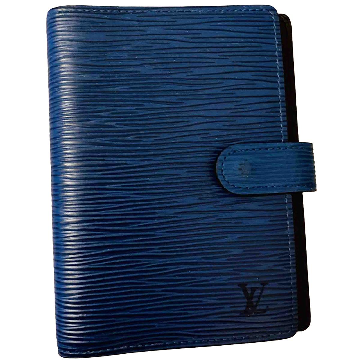 Agenda Couverture dagenda PM de Cuero Louis Vuitton