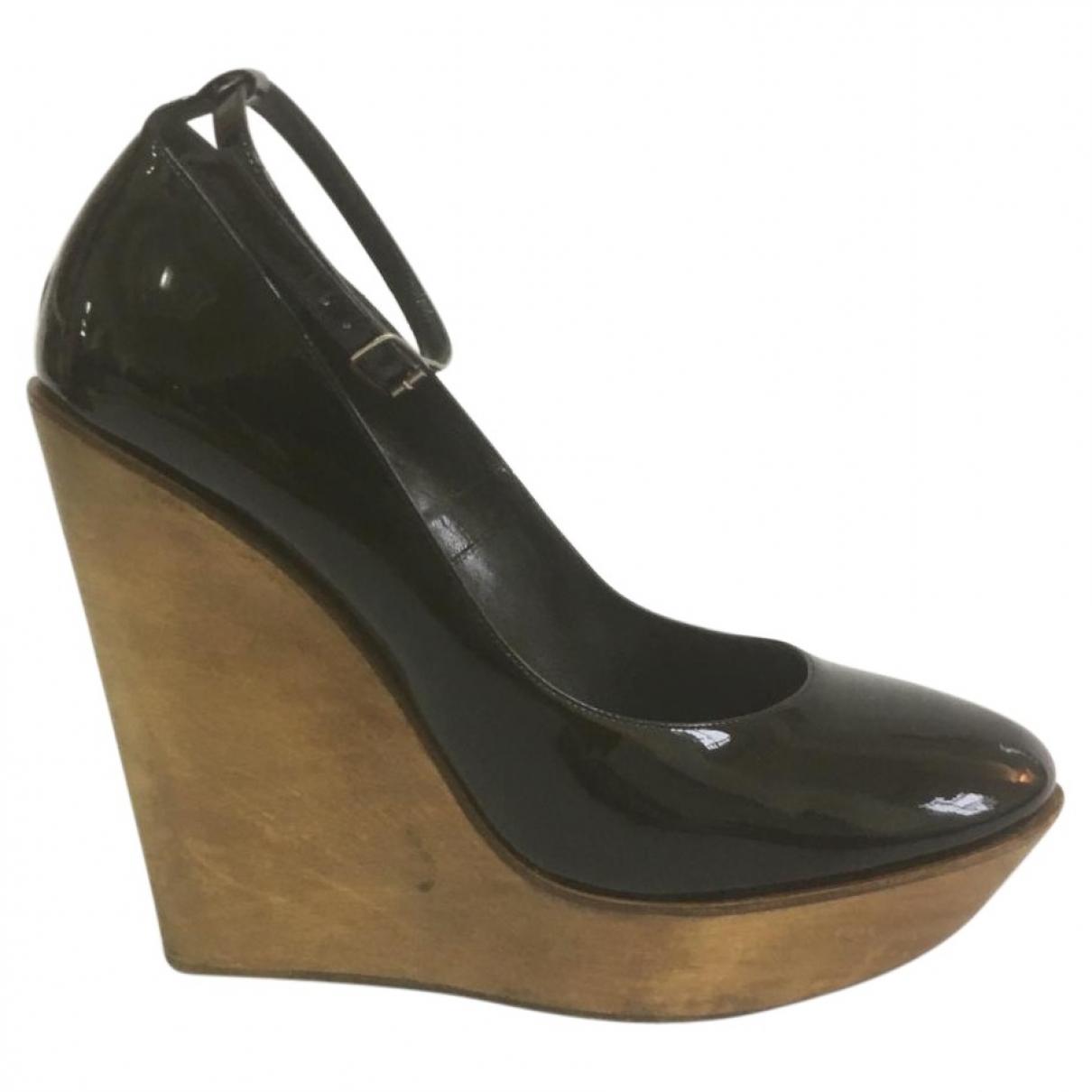 Chloé \N Black Patent leather Heels for Women 38 EU