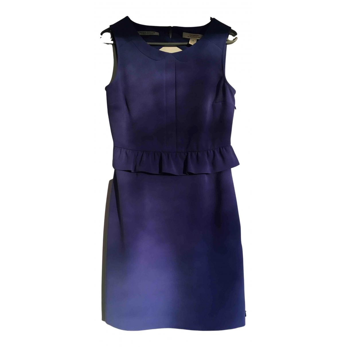 Scotch & Soda - Robe   pour femme en coton - violet