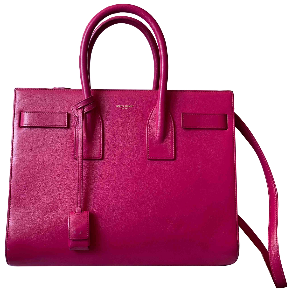 Saint Laurent Sac de Jour Pink Leather handbag for Women \N